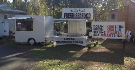 MOBILE FOOD BUSINESS   HOT FOOD AND SEAFOOD Caboolture Caboolture Area Preview