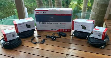 CCTV Security Camera 1080P Dvr System Hikvision complete package