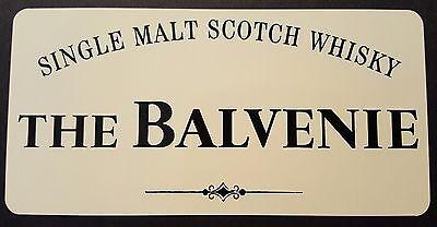 The Balvenie scotch whisky sticker. 10
