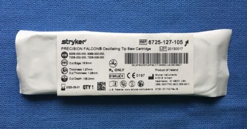 Stryker 6725-127-105 Precision Falcon Oscillating Tip Saw NEW! Exp. 2025