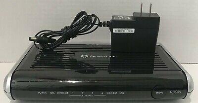 {USED}CenturyLink Actiontec C1000A-D Wireless Modem Router VDSL ADSL DSL