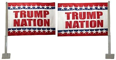 Lot of 12 12x18 Trump Nation Rough Tex Knit Double Sided 12
