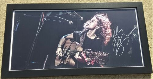 TASH SULTANA Notion Jungle Guitarist SIGNED + FRAMED 12x24 Poster