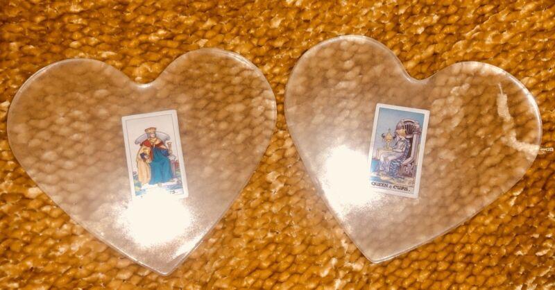 Counter Display Heart Shape Tarot Card Glow In The Dark