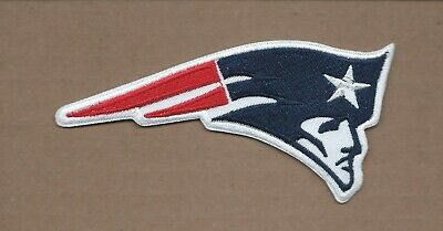 NEW 2 1/2 X 5 INCH NEW ENGLAND PATRIOTS IRON ON PATCH FREE SHIPPING P1