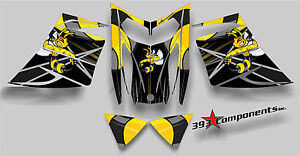 SKI-DOO-REV-MXZ-SNOWMOBILE-SLED-WRAP-GRAPHICS-STICKER-DECAL-KIT-03-07-KILLER-BEE