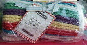 Mamas & Papas 100% Cotton Baby Newborn Blanket Pram Crib Basket Girl Boy 70x90cm