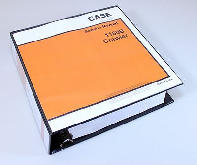 Case 1150b Crawler Dozer Bulldozer Service Repair Manual Technical Shop Book