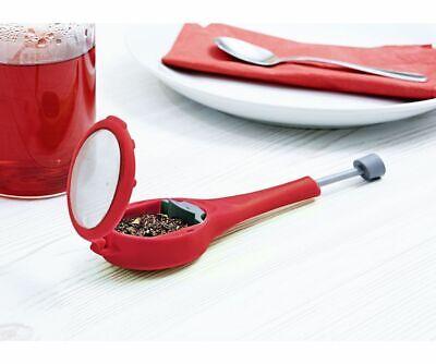 2 Stück Tee-Ei mit Schieberegeler zum schnellen auspressen Ihres lieblings Tee`s - 2 Stück Tee