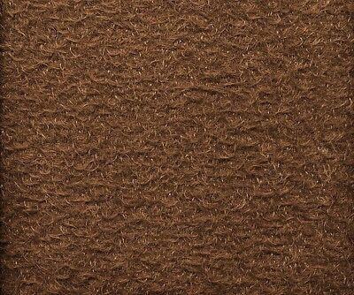 Original Schulte Antikmohair gekräuselt - kakao 25 x 47 cm