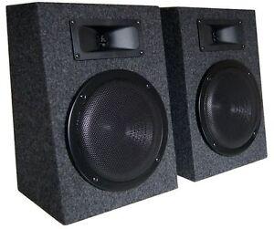 500 Watt PAAR 2-Wege PA-Boxen - Monitorboxen - Regal Lautsprecher
