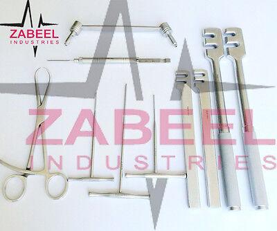 Assorted Orthopedic Instrument 10 Pcs Set Veterinary Instrument Zabeelind