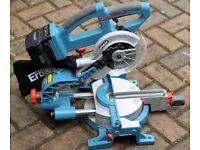 Brand new Erbauer sliding mitre saw