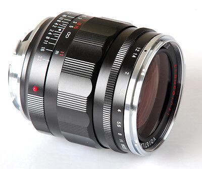 Voigtlander Nokton Leica M 35mm f/1.2  35/1.2 FREE NEXT DAY USA