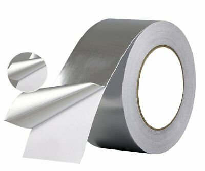 Aluminum Foil Tape- Best For Hvac Ducts Insulation And Heavy Duty Aluminum