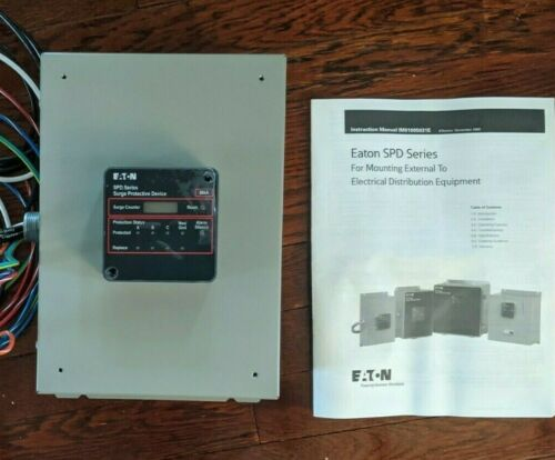 Eaton 50kA SPD | Distribution Panel Surge Protector SPD050208Y3K Std+Ctr NEMA 1