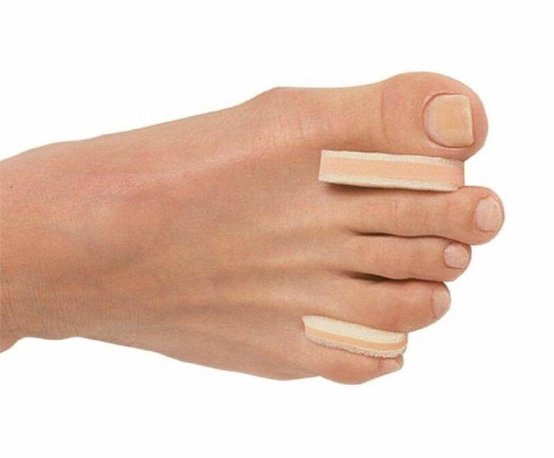 Pedifix 3 Layer Toe Separators Between Toe Pain Relief 12/pkg 8130-x