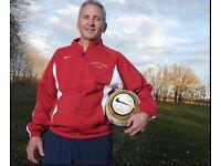 Footbal Coach Wanted, coach football in London, football in London, play football in london