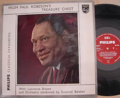 From Paul ROBESON's Treasure Chest - Emanuel BALABAN - Philips G 033553 L