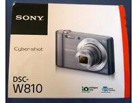 Sony Cyber Shot. DSC- W810