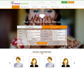 You should Expand to own Matrimonial script in Php