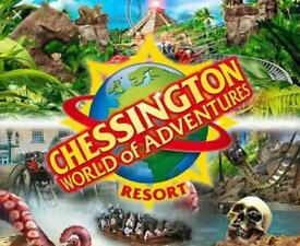 2xChessington world of adventures tickets