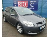 2008 (08 reg), Toyota Auris 1.6 VVT-i SR 5dr Hatchback, 3 MONTHS AU WARRANTY INCLUDED, £2,595 ono