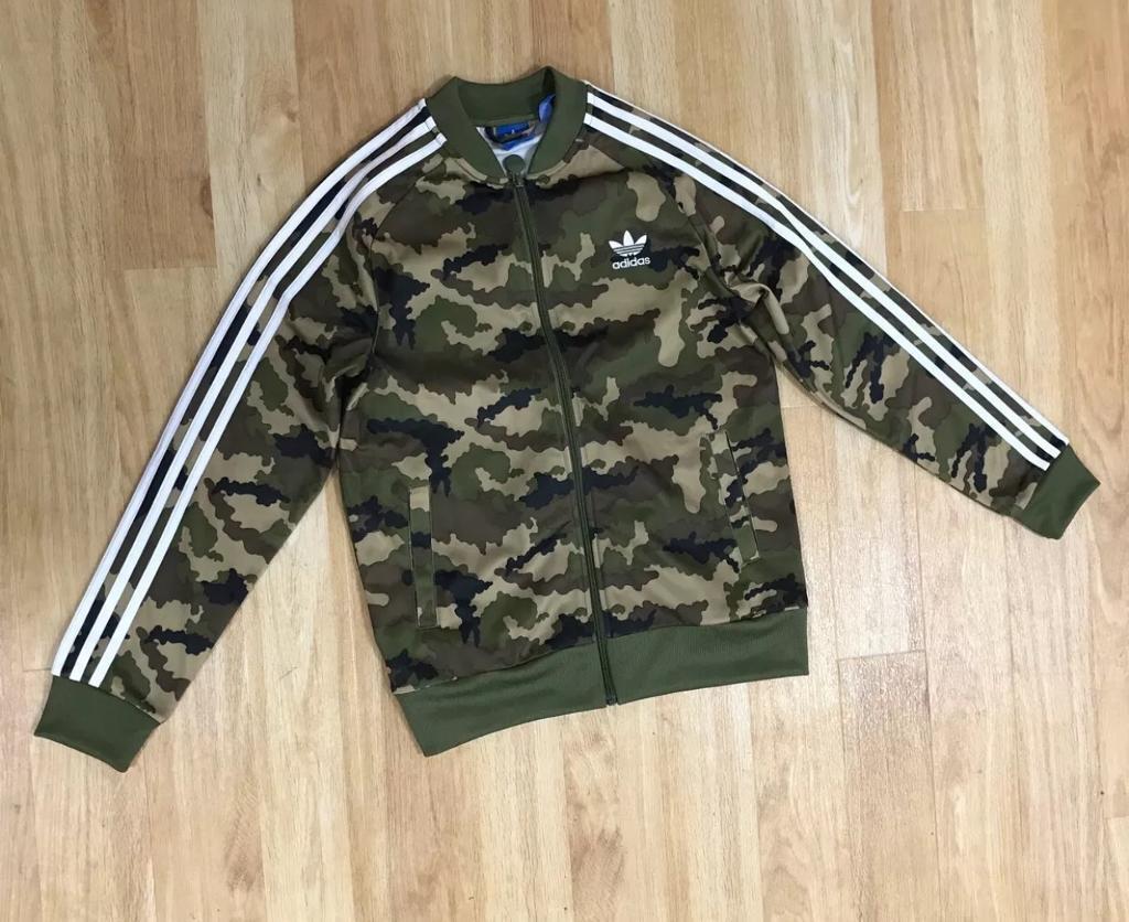 3e1e2535aa061 Adidas camo jacket. 11-12 years. Kids children's. (Size 6) | in ...
