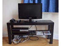 PlayStation 3 (PS3), Samsung 19 Inch HD LCD TV, GTA V, MGS V, IKEA LACK TV bench, IKEA KOPPLA socket