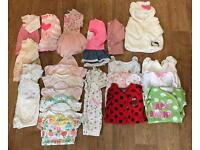 Baby girls clothes 0-3 minths