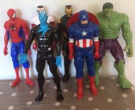 Marvel Titan 12 ins figures