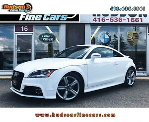 2012 Audi TT 2.0T S-Line - ONE OWNER - COUPE - CERTIFIED