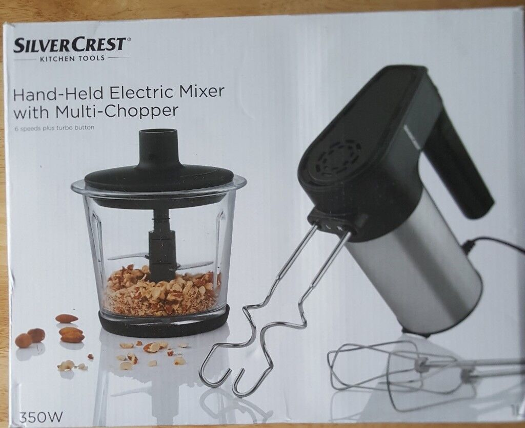 Lidl Silvercrest Electric Mixer, Chopper and Blender *BRAND NEW ...