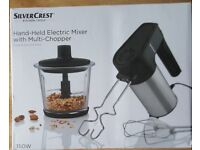 Lidl Silvercrest Electric Mixer, Chopper and Blender *BRAND NEW* *NEVER USED*