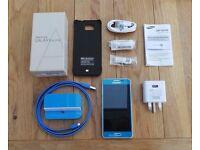 Samsung Galaxy Alpha SM-G850F 32GB Scuba Blue (Unlocked) BOXED Excellent condition plus Extras