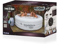 Bestway Lay Z Spa Vegas Airjet - 4-6 Person Inflatable Hot Tub - 2020 Model