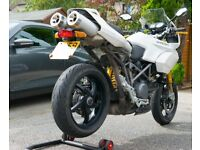 Ducati Multistrada 1100s - White S Model Ohlins Suspension + Carbon £2700 ONO