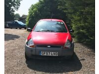 Ford KA for sale, Long MOT, very low mileage, service history, drives perfect.