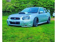 Subaru impreza wrx show spec !
