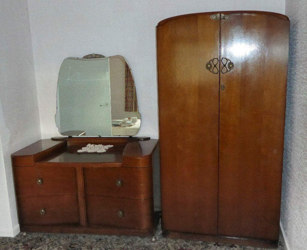 Matching Dressing Table and Wardrobe
