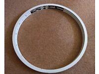 "Alienation BMX Rim Wheel White PBR 20"""