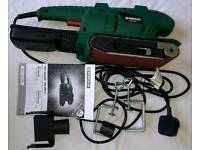600w belt sander - new in box with accessories