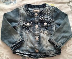 Next Girls Denim Jacket 3-4 years