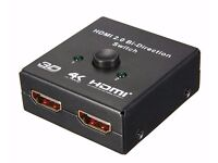 HDMI Splitter 2 in 1