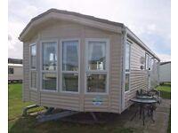 8 berth Holiday Caravan for hire.Presthaven Sands Beach Holiday Resort, Prestatyn, North Wales (MG)