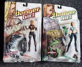Danger Girls action figures - Abbey Chase and Natalia Kassle