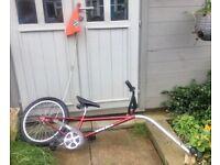 Spokey Joe bike tag along bike complete with fixings
