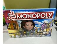 Monopoly Hasbro - Ms Monopoly Board Game NEW & SEALED