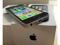 IPhone SE 32GB black, lock on EE, T-Mobile, Orange and Vergin!