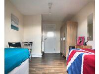Turnpike Lane Double or Twin room En-suit £180/week